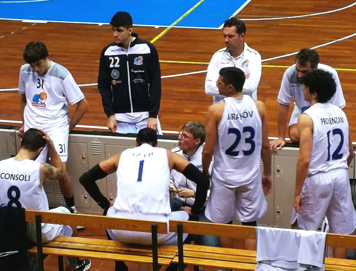 L'Alfa Basket Catania e coach Andrea Bianca si separano