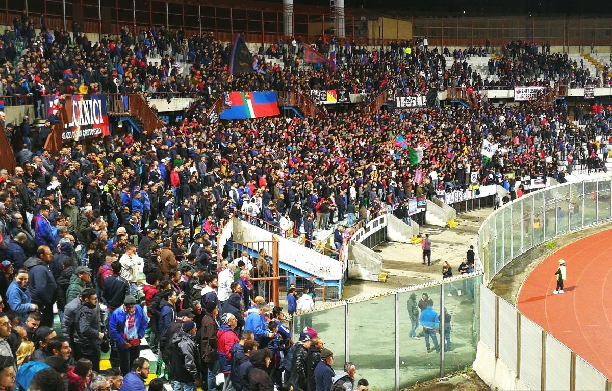 Catania-Trapani, numeri da Champions: oltre 10.000 biglietti venduti, Curva Nord già sold out